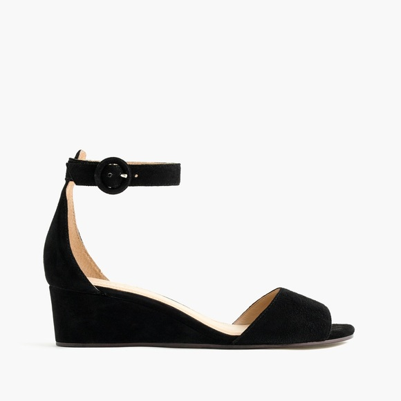82f5d8573f05 J. Crew Shoes - J.CREW Laila wedges in suede